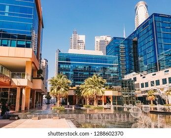 Dubai, UAE - 2019 - The Bay Square a mixed use and low rise complex development project comprising of 13 buildings (offices) which are ideally located in Business Bay developed by Dubai properties.