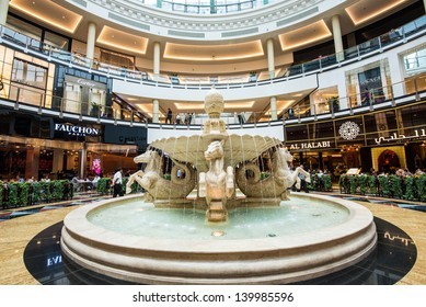 DUBAI, UAE - APRIL 29: Mall of the Emirates interior April 29, 2013 in Dubai, United Arab Emirates. Mall of the Emirates is a shopping mall in the Al Barsha district of Dubai.