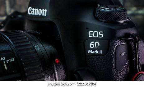 Dubai, UAE - August 2017: A picture taken in my studio for Canon 6D mark II