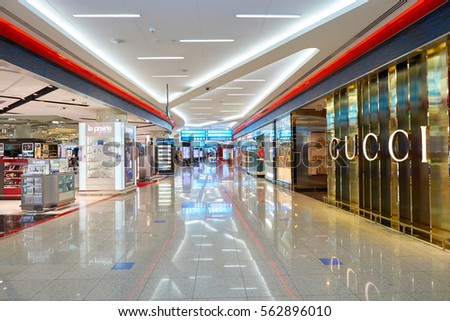 44236b2e2fd DUBAI UAE CIRCA NOVEMBER 2016 Gucci Stock Photo (Edit Now) 562896010 ...
