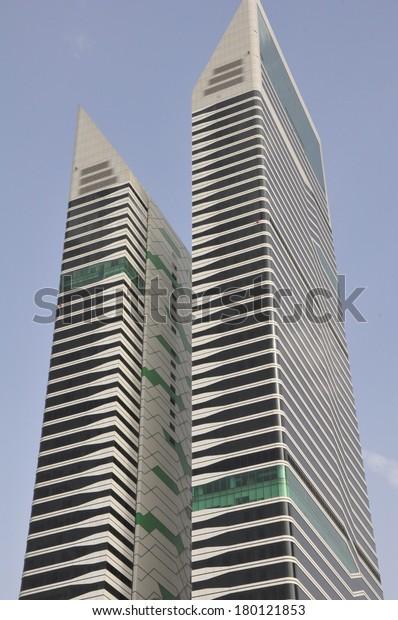 Dubai Uae Feb 18 Acico Twin Stock Photo (Edit Now) 180121853