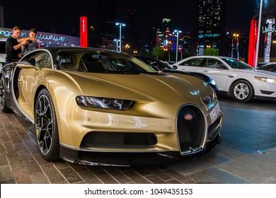 Dubai UAE February 14 2018 Bugatti Stock Photo (Safe to Use ... on aston martin showroom, alfa romeo showroom, audi showroom, rolls royce showroom, dodge showroom,