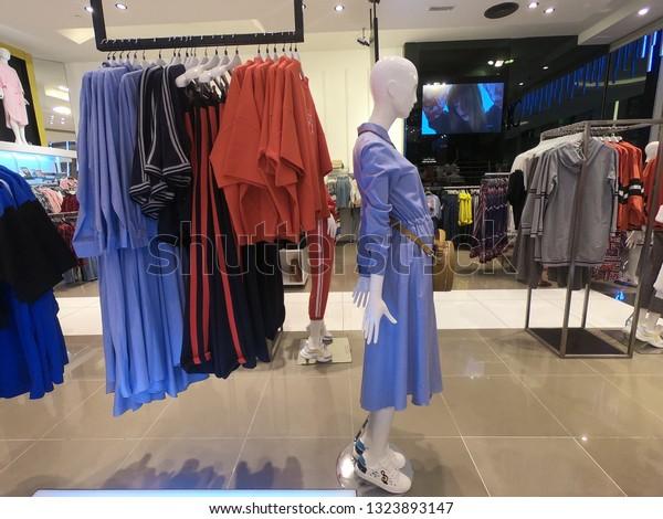 Dubai Uae February 2019 Womens Clothing Stock Photo (Edit