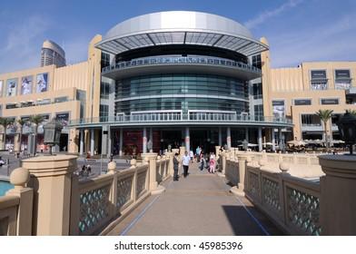 DUBAI, UAE - JAN 22: The Dubai Mall the world's largest shopping mall January 22, 2010 in Dubai, United Arab Emirates