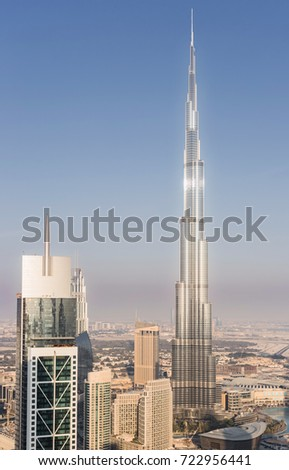 DUBAI UAE JAN 9 2017 Millenium Stock Photo (Edit Now) 722956441