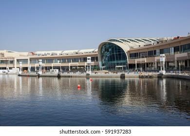 DUBAI, UAE - NOV 27, 2016: The Dubai Festival City Mall. United Arab Emirates, Middle East