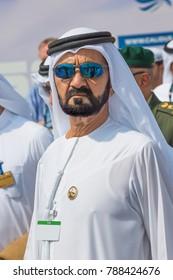 Dubai, UAE - NOVEMBER 12, 2017:  HH Sheikh Mohammed Bin Rashid Al Maktoum. UAE Vice President, Prime Minister. Dubai Ruler. United Arab Emirates government.