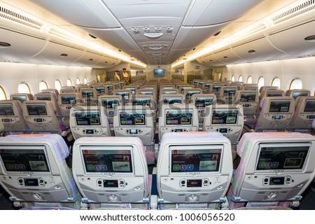 Dubai Uae November 12 2017 Emirates Stockfoto Jetzt Bearbeiten