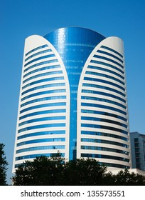 DUBAI, UAE - NOVEMBER 12: Modern buildings in Dubai Marina, on November 12, 2012, Dubai, UAE. Dubai was the fastest developing city in the world between 2002 and 2008.