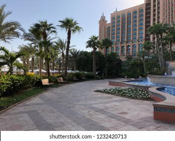 Dubai, UAE - November 1st 2018 - Luxury resort Atlantis the Palm