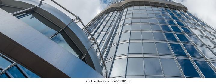 DUBAI, UAE - NOVEMBER 22, 2015: Burj Khalifa, the highest building in the world, 829.8 m tall. It is the new symbol of the city.