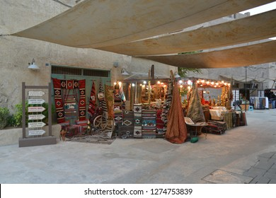 Dubai, UAE – November 25, 2018: Souq or Souk is an open air market place in Arab Country