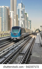 Dubai, UAE on 27th Nov 2016: The Dubai RTA is a integrated transportation systems for residents of Dubai. It comprises of Metro, Tram, Abras,  Bus, Water Bus, and Water Taxi's