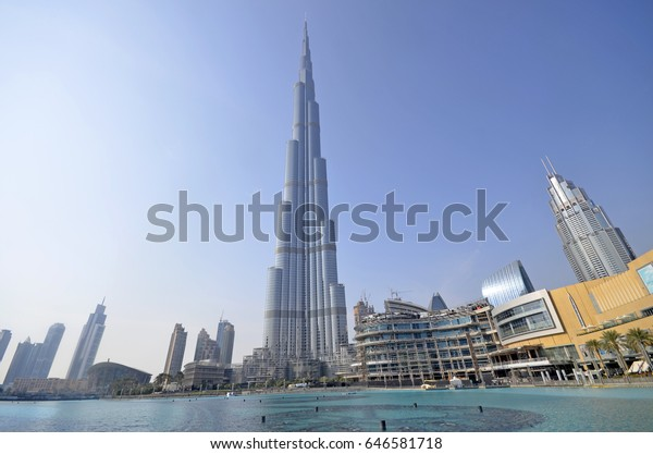 Dubai United Arab Emirates 24th May Stock Photo (Edit Now) 646581718