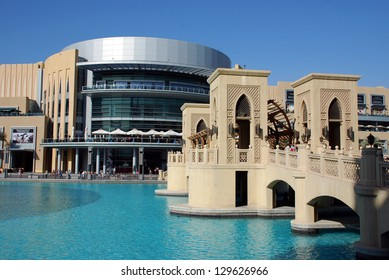 DUBAI, UNITED ARAB EMIRATES - APRIL 11: Overview of the Dubai Mall April 11, 2012 in Dubai, United Arab Emirates. This is the biggest shopping mall in the world.