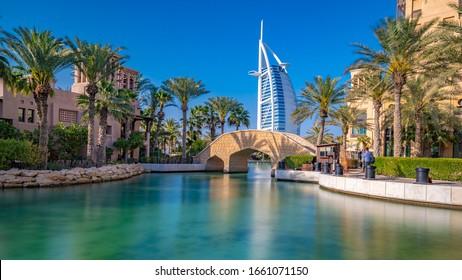 Dubai, United Arab Emirates - February 20, 2020 : Skyscraper In Dubai