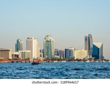 DUBAI, UNITED ARAB EMIRATES - JANUARY 06, 2018: Dubai Creek.