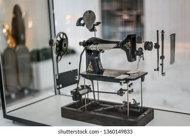 Singer Sewing Machine Stok Fotoğraflar, Görseller ve