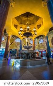 DUBAI, UNITED ARAB EMIRATES - NOVEMBER 2: Battuta Mall is the most beautiful supermarket in Dubai, November 2, 2013.
