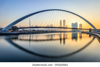 Dubai Water Canal Skyline Dubai - United Arab Emirates 2 December 2016