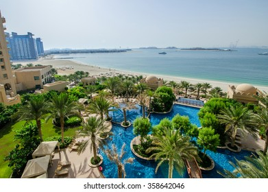 DUBAI,UAE ,MARCH 31 Located in Palm Jumeirah, Fairmont The Palm offers luxurious accommodation with spectacular views. On 31 of March,2014