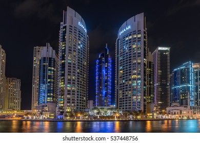 Dubai,UAE on 25th Nov 2016:Emaar Properties is a large real estate developer in the UAE and is known for various large-scale projects such as developing Burj Khalifa, the tallest building in the world