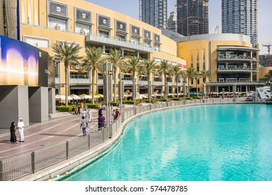 Dubai,UAE on the 25th Nov 2016:The Dubai Mall is an enormous mall in Dubai, built by Emaar properties, as part of the Downtown Dubai project. Featured attractions include the world's largest gold souk