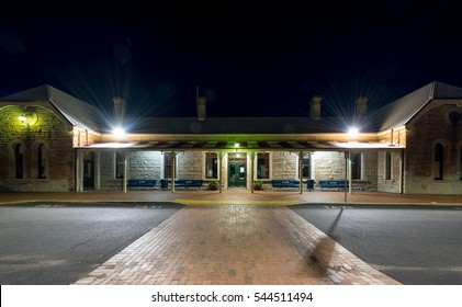 Dubbo, Australia - December 27, 2016: Train station in West Central, New South Wales, Australia.