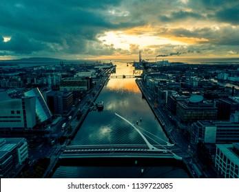 Dublin Aerial by Drone, Aerial, Ireland