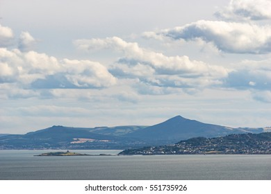 Dublin Bay and the Wicklow Mountains as Seen from Howth, Ireland