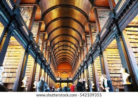 Dublin Ireland 1 Nov 2016 Old Stock Photo Edit Now 542109355