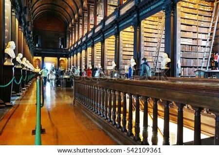 Dublin Ireland 1 Nov 2016 Old Stock Photo Edit Now 542109361