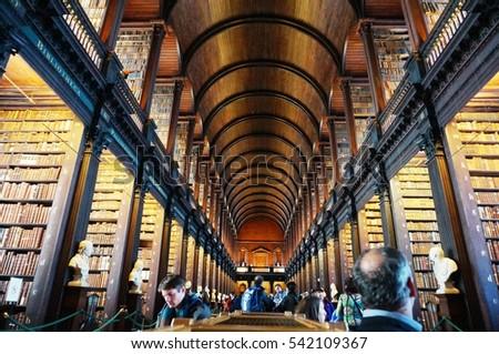 Dublin Ireland 1 Nov 2016 Old Stock Photo Edit Now 542109367