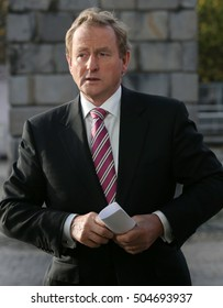 DUBLIN, IRELAND - 12/11/2015. Taoiseach Enda Kenny visits Dogpatch Labs in the CHQ Building in Dublin at the launch of the Enterprise 2025 programme.