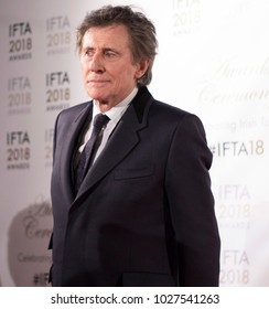 DUBLIN, IRELAND - 15 FEBRUARY 2018: Actor Gabriel Byrne attends the Irish Film & Drama Awards at the Mansion House, Dublin, where he received a Lifetime Achievement Award.