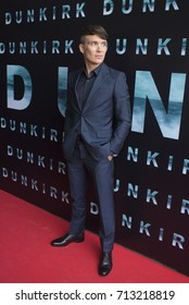 DUBLIN, IRELAND - 16 JULY 2017: Irish actor Cillian Murphy attends the Irish premiere of his latest film, Dunkirk.