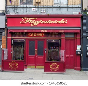 Dublin, Ireland, 3rd July 2019. Fitzpatricks's Casino in Aungier Street, Dublin, part of a chain of casinos operated by this company..