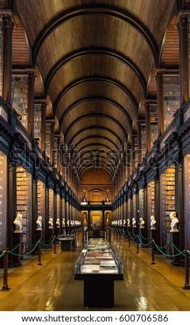 Dublin Ireland January 23 2017 Old Stock Photo Edit Now 600706586