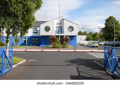 Dublin, Ireland - July 26 2019: Tallaght Garda Station