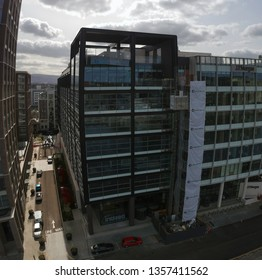 Dublin, Ireland - March 29th 2019: Indeed Ireland Offices Under Construction