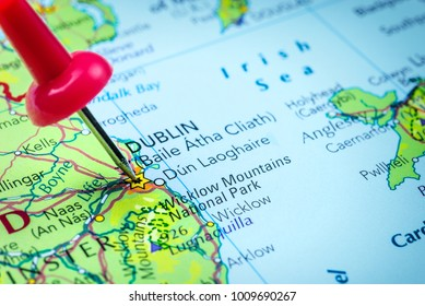 Dublin On Map Of Ireland.Dublin City Map Images Stock Photos Vectors Shutterstock