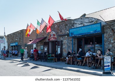 Dublin, JUL 1: Interesting stores at Howth on JUL 1, 2018 at Dublin, Ireland