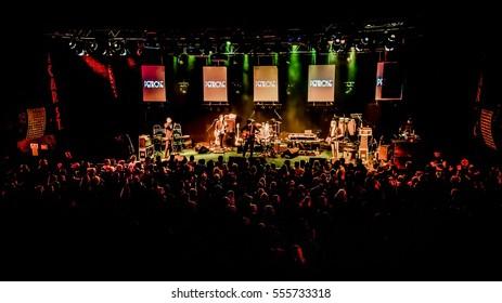 Dublin,Ireland,27th December 2016,Penrose play support to Aslan at Vicar Street,Dublin on 27th December in Dublin,Ireland