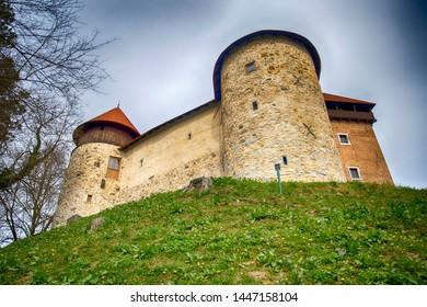 Dubovec castle in Karlovac, Croatia