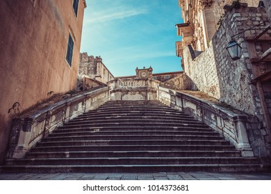 Dubrovnik ,a Croatian city on the Adriatic Sea