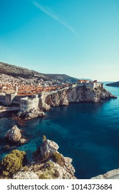 Dubrovnik ,a Croatian city on the Adriatic Sea