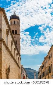 Dubrovnik city wall. Croatia.