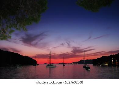 dubrovnik croatia sea view