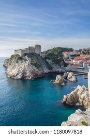 Dubrovnik is a Croatian city on the Adriatic Sea.