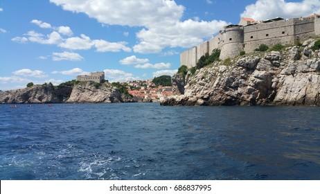 Dubrovnik, fortress Lovrijenac